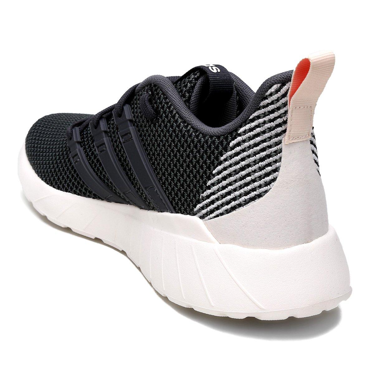 6b952e812 ... Tênis Adidas Questar Flow Feminino - Preto+Off White. LANÇAMENTO