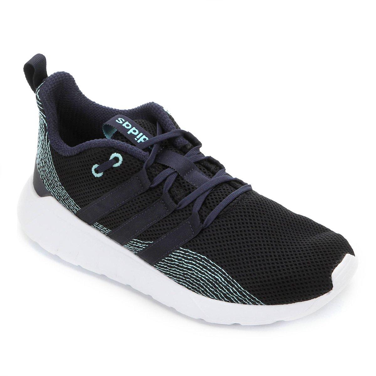 Tênis Adidas Questar Flow Masculino - Preto e Azul