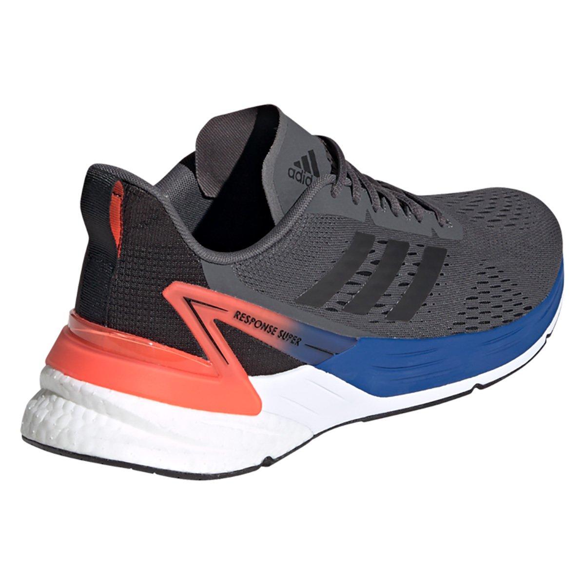 Tênis Adidas Response Super Boost Masculino - Cinza e