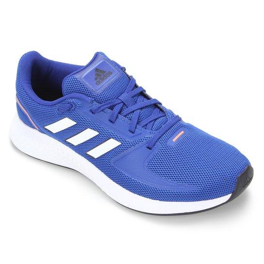 Tênis Adidas Runfalcon 2.0 Masculino - Azul Royal+Branco
