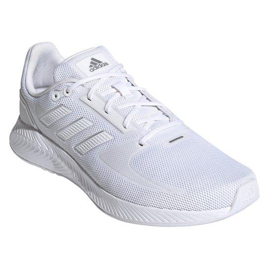 Tênis Adidas Runfalcon 2.0 Masculino - Branco+Cinza