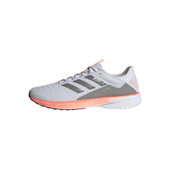 Tênis Adidas SL20 Masculino - Cinza+Laranja