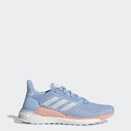 catalogar preámbulo Trascendencia  Tênis Adidas Solar Boost Feminino - Azul | Netshoes