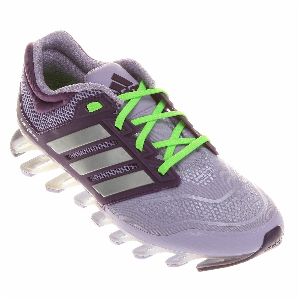 c6d500eef83 ... czech o produto tênis adidas springblade 2 tech fit feminino roxo e  lilás acabou. c31a2