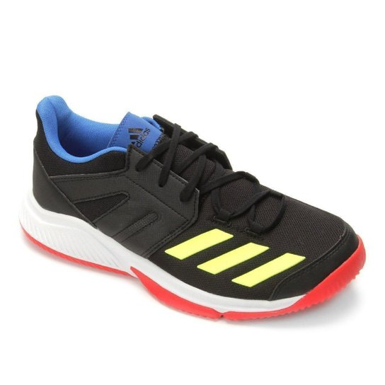 Tênis Adidas Stabil Essence Masculino - Preto+verde