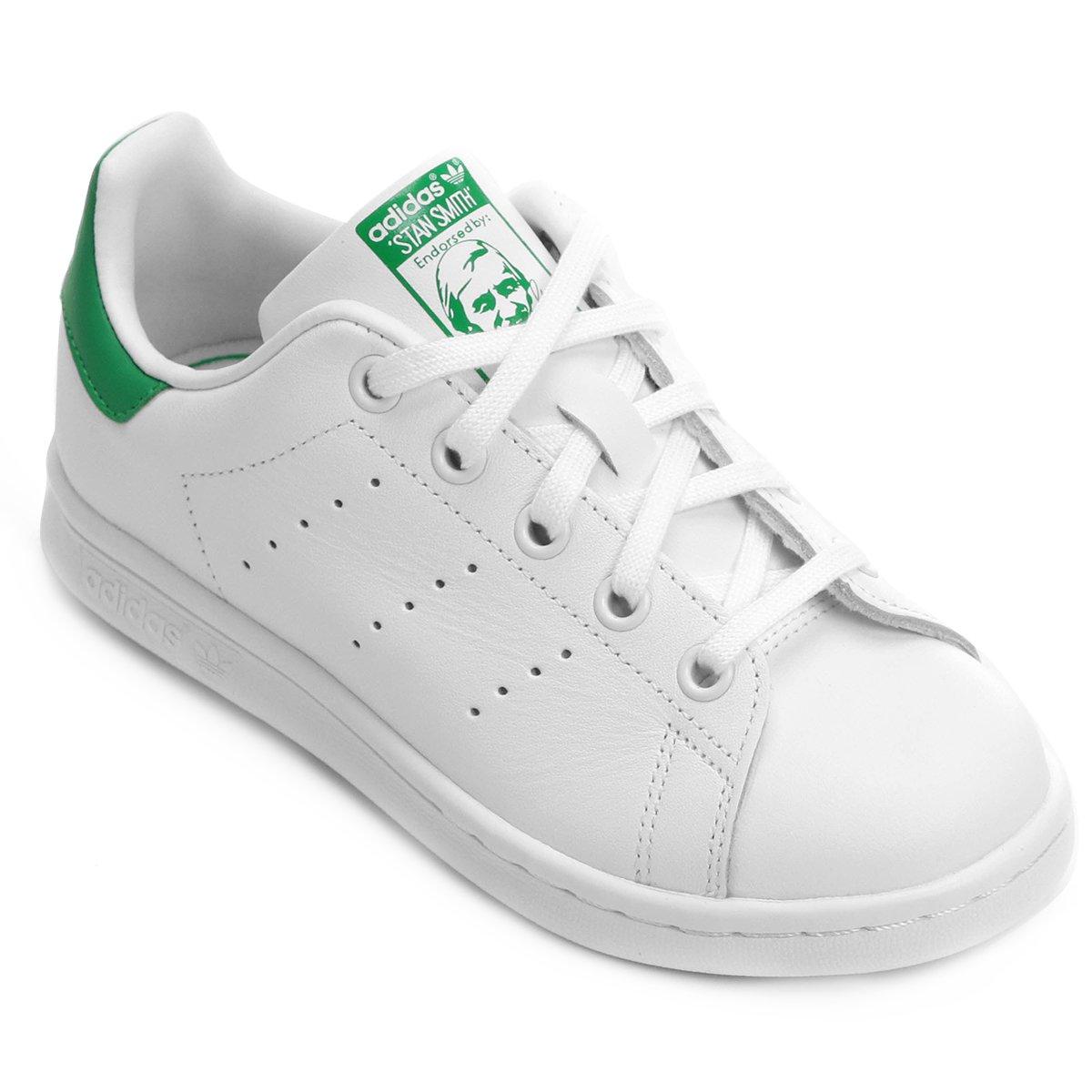 e5607a5de0 Tênis Adidas Stan Smith El C Infantil - Compre Agora