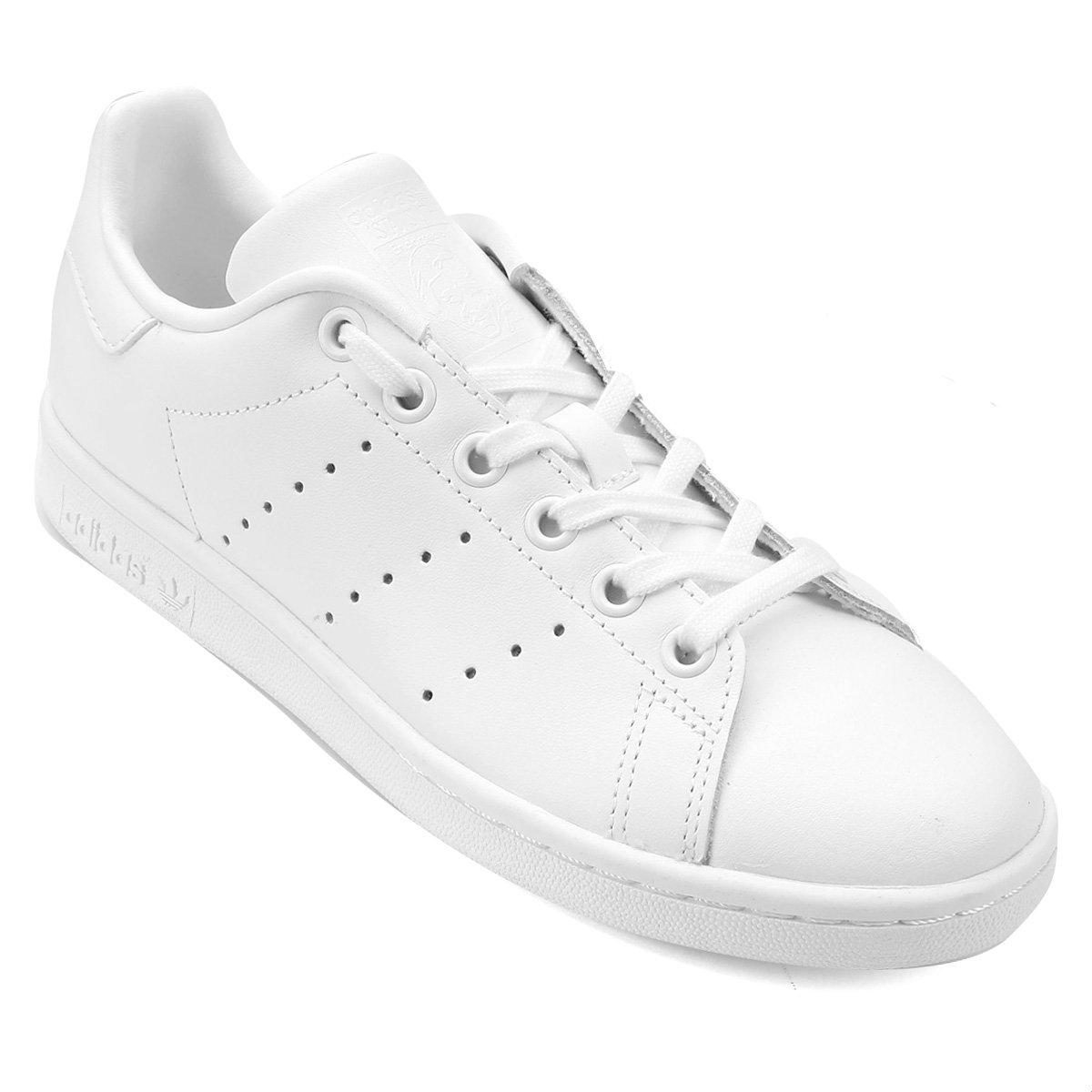 Tênis Adidas Stan Smith J Infantil - Compre Agora  a826f66bea1a9