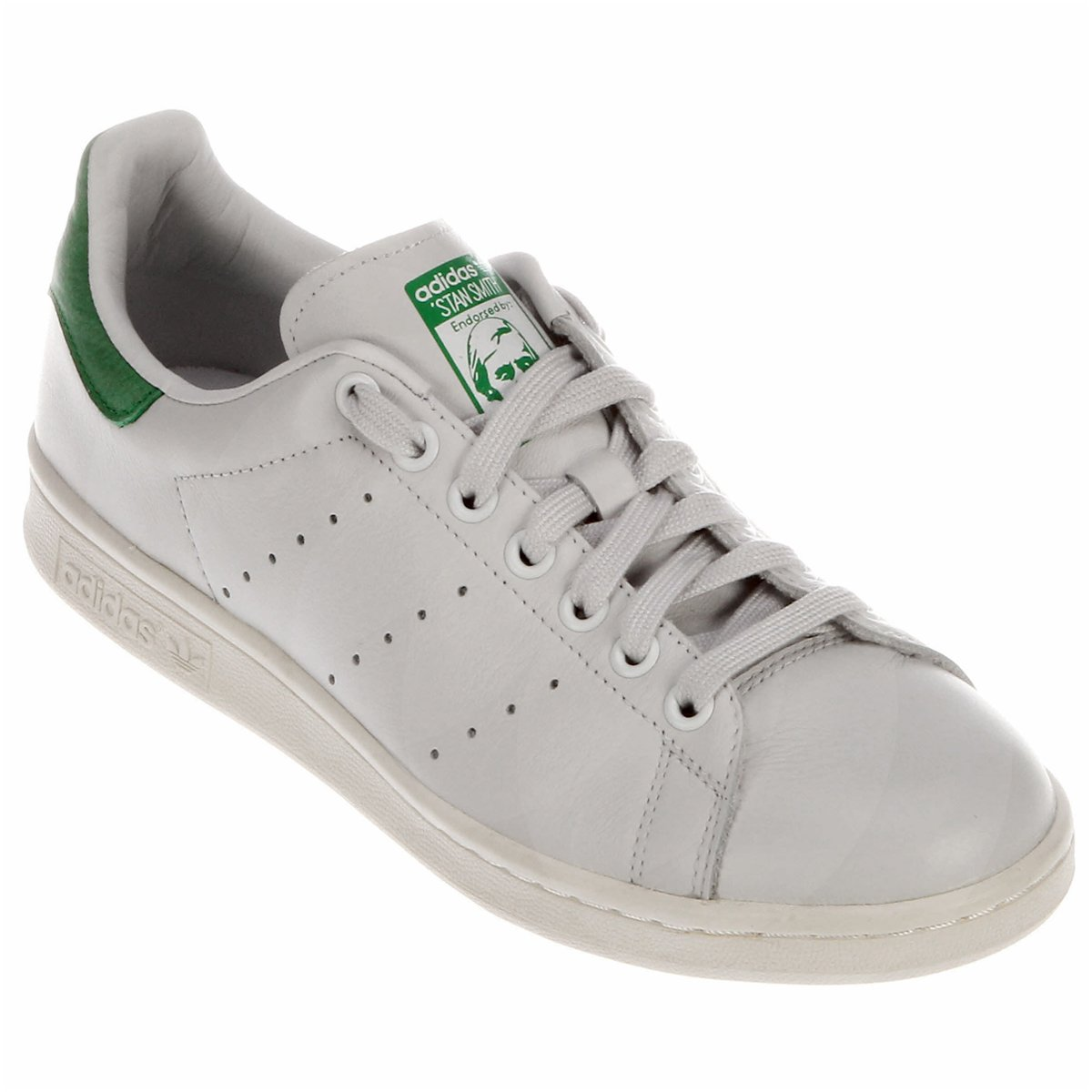 2dcb5da4ef2d Tênis Adidas Stan Smith - Branco e Cinza - Compre Agora