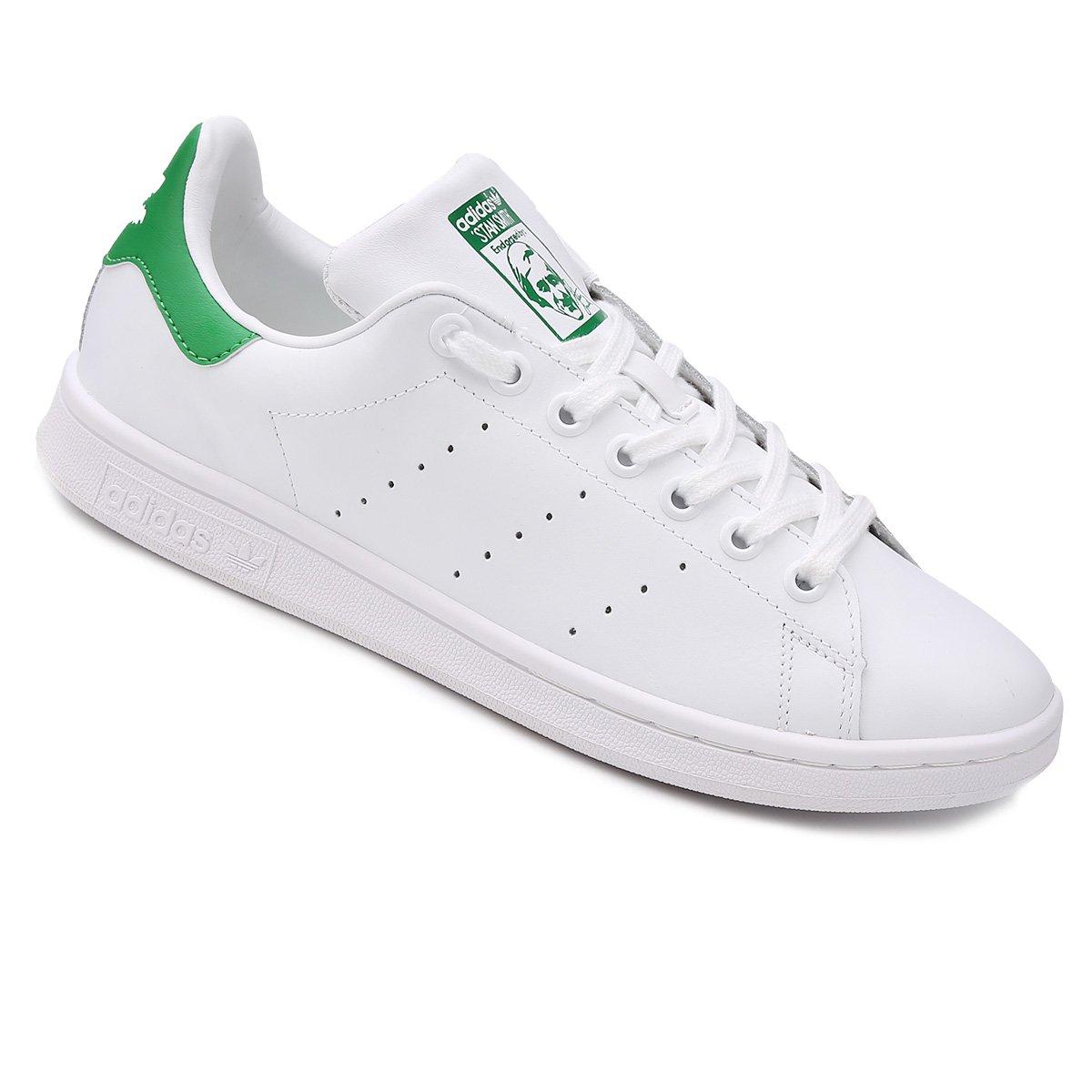1b0d751d2318 Tênis Adidas Stan Smith - Branco e Verde - Compre Agora