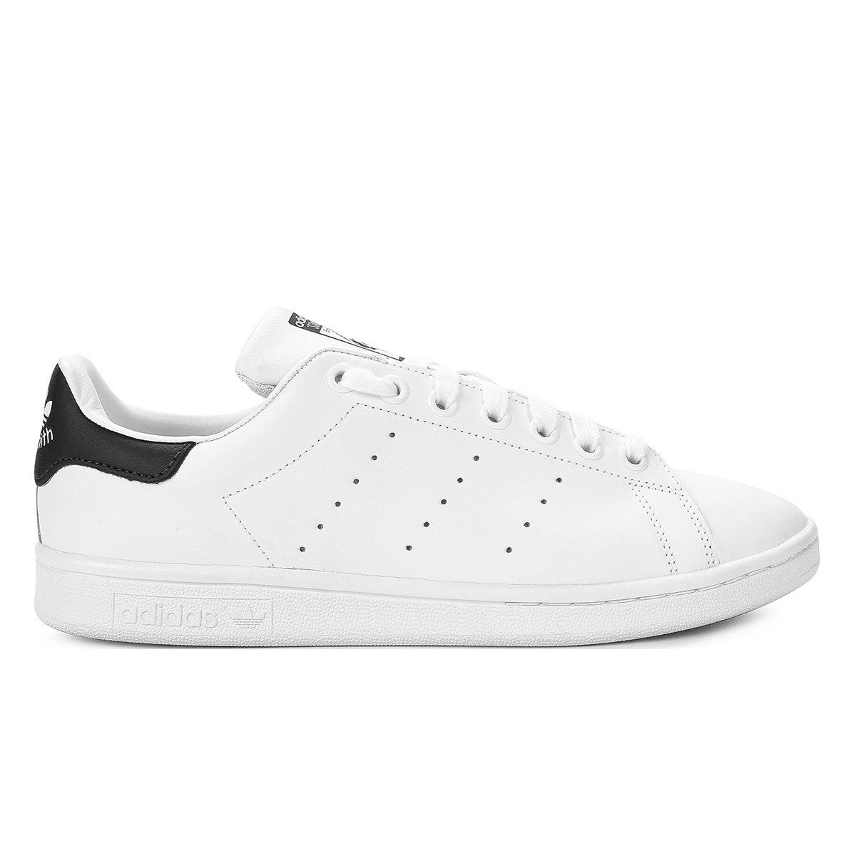 d38a470091a Tênis Adidas Stan Smith - Branco e Marinho - Compre Agora