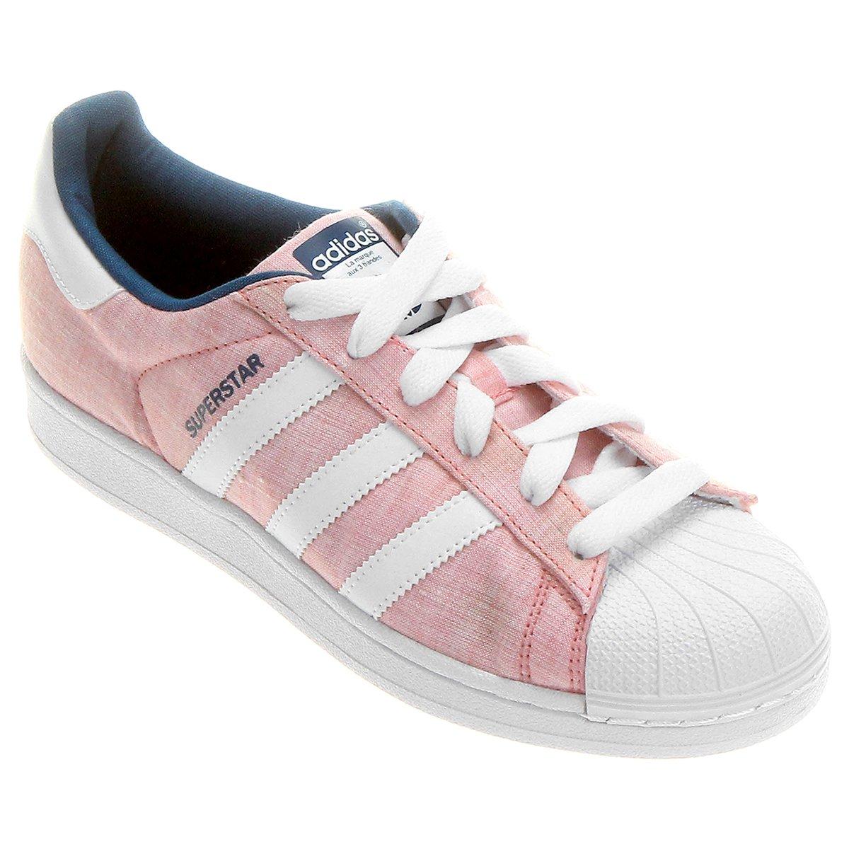 tenis adidas feminino star rosa