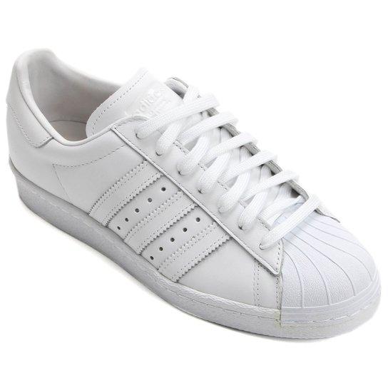 Tênis Adidas Superstar 80S - Branco