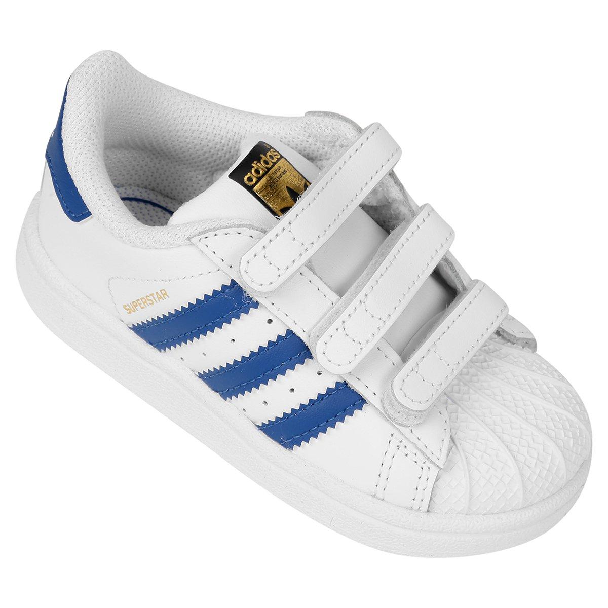 d8ddd11fbfe Tênis Adidas Superstar Foundation Cf Infantil - Compre Agora