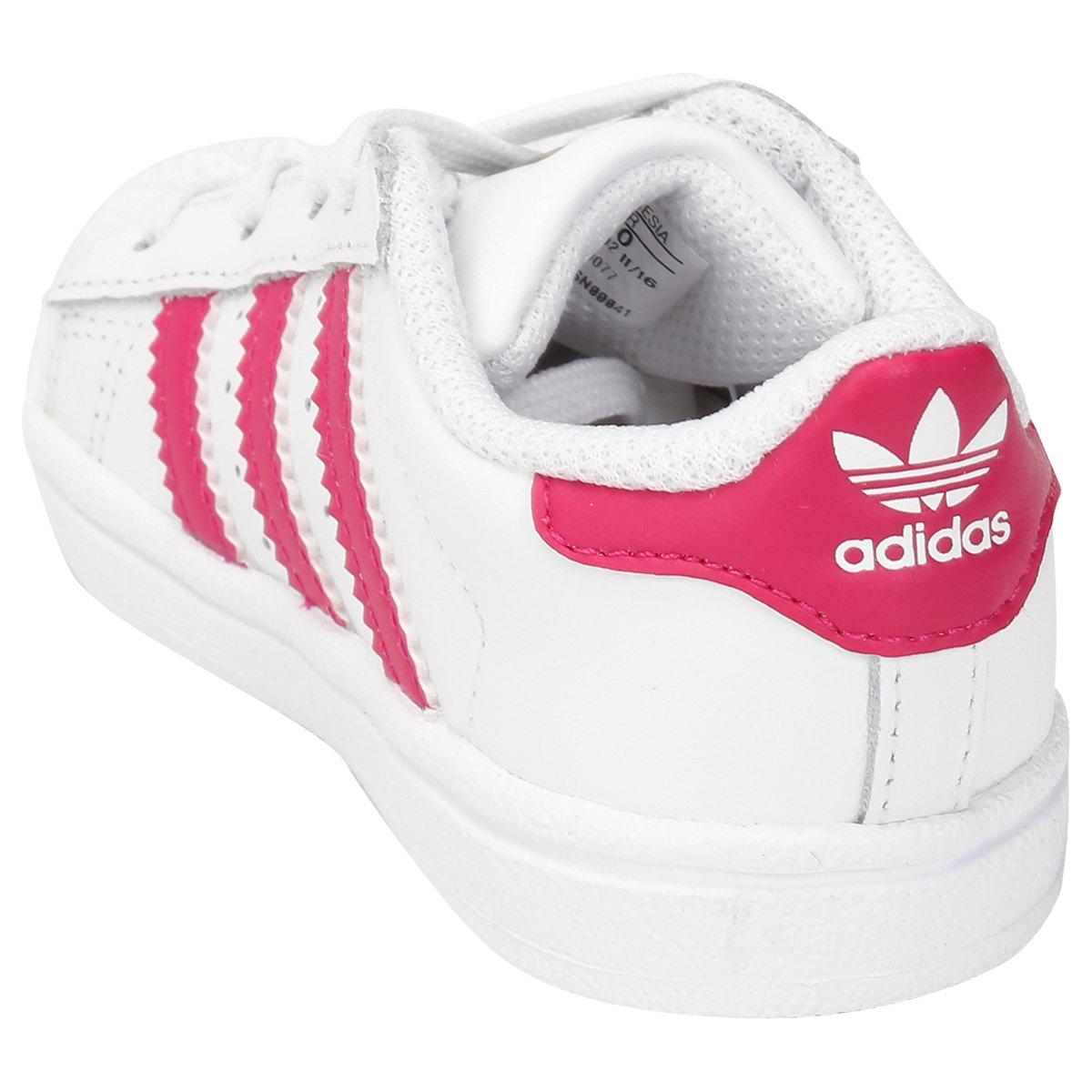 Tênis Adidas Superstar Foundation I Infantil - Compre Agora  cce00b71084