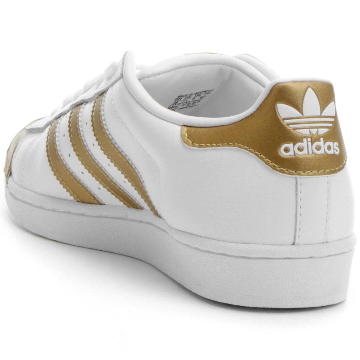 a13508411a Tênis Adidas Superstar Metallic - Compre Agora