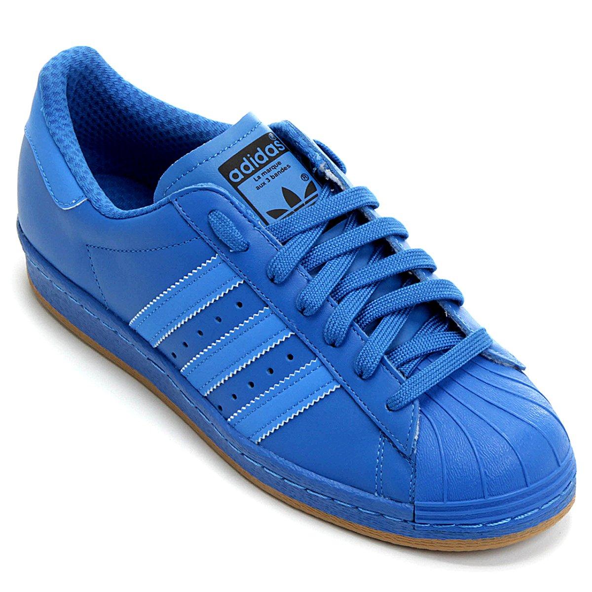 adidas superstar azul escuro