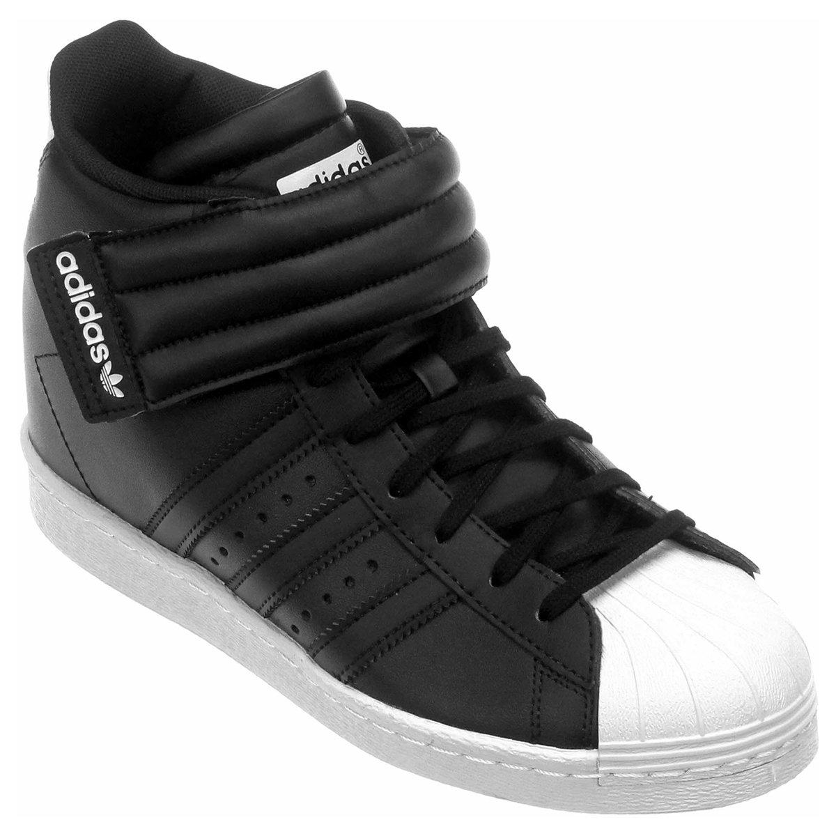 ab2b0975a0552 ... switzerland tênis adidas superstar up strap w preto 2d5d9 18c91