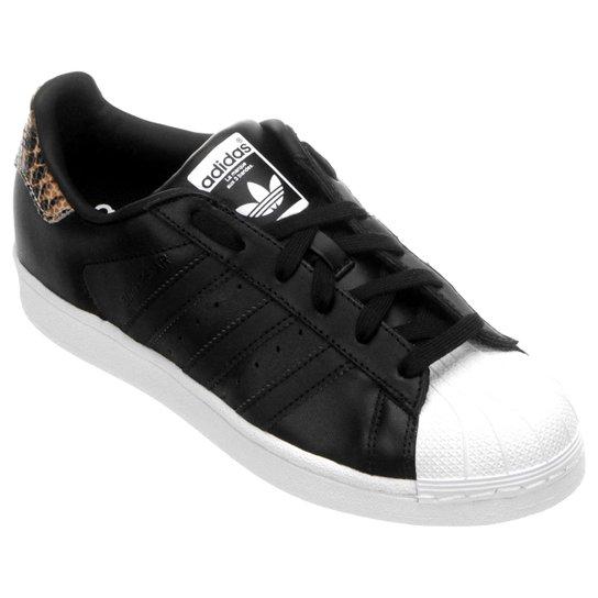 Tênis Adidas Superstar W - Preto