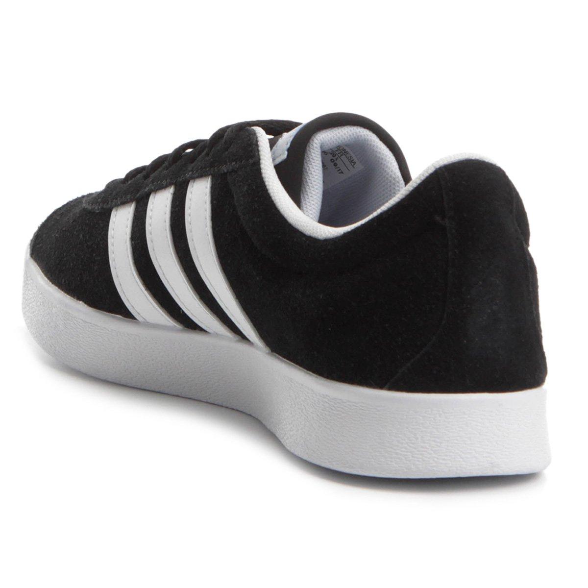 Tênis Adidas Vl Court 2 Feminino - Compre Agora  53ffa58a14a08