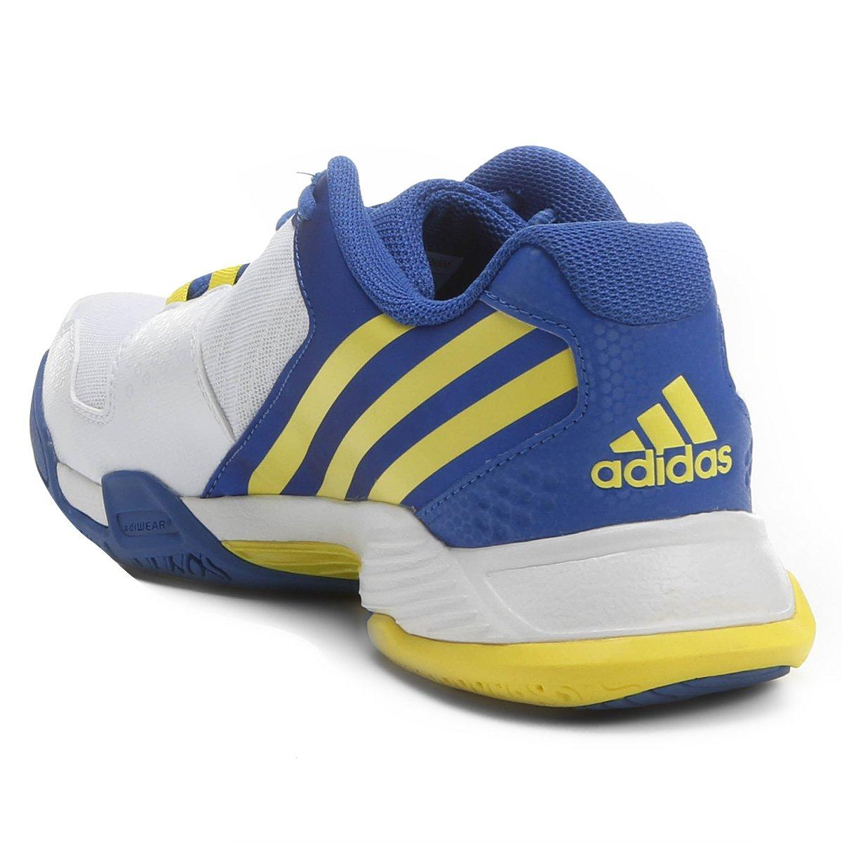 61dd923b867 ... Tênis Adidas Volley Team 4 - Branco+Azul. OFERTAS  OPEC