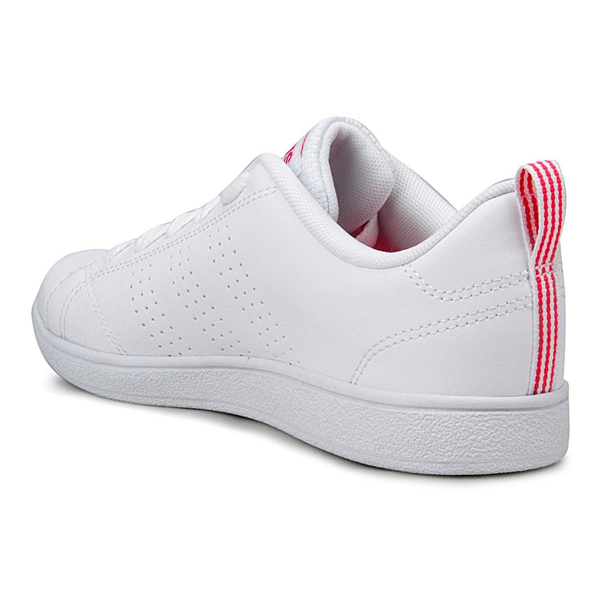 116df35544 Tênis Adidas Vs Advantage Clean K Infantil - Branco e Vermelho ...