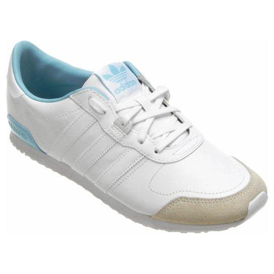 Tênis Adidas ZX 700 BE Low - Branco+Azul Claro