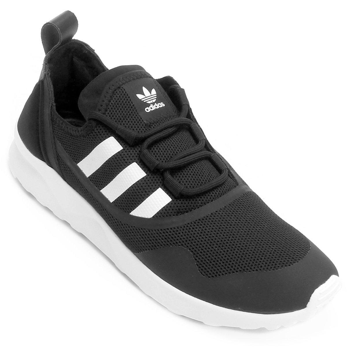buy online 3fb48 1e6f1 ... promo code for tênis adidas zx flux adv virtue preto e branco c8eec  0d8d9 ...