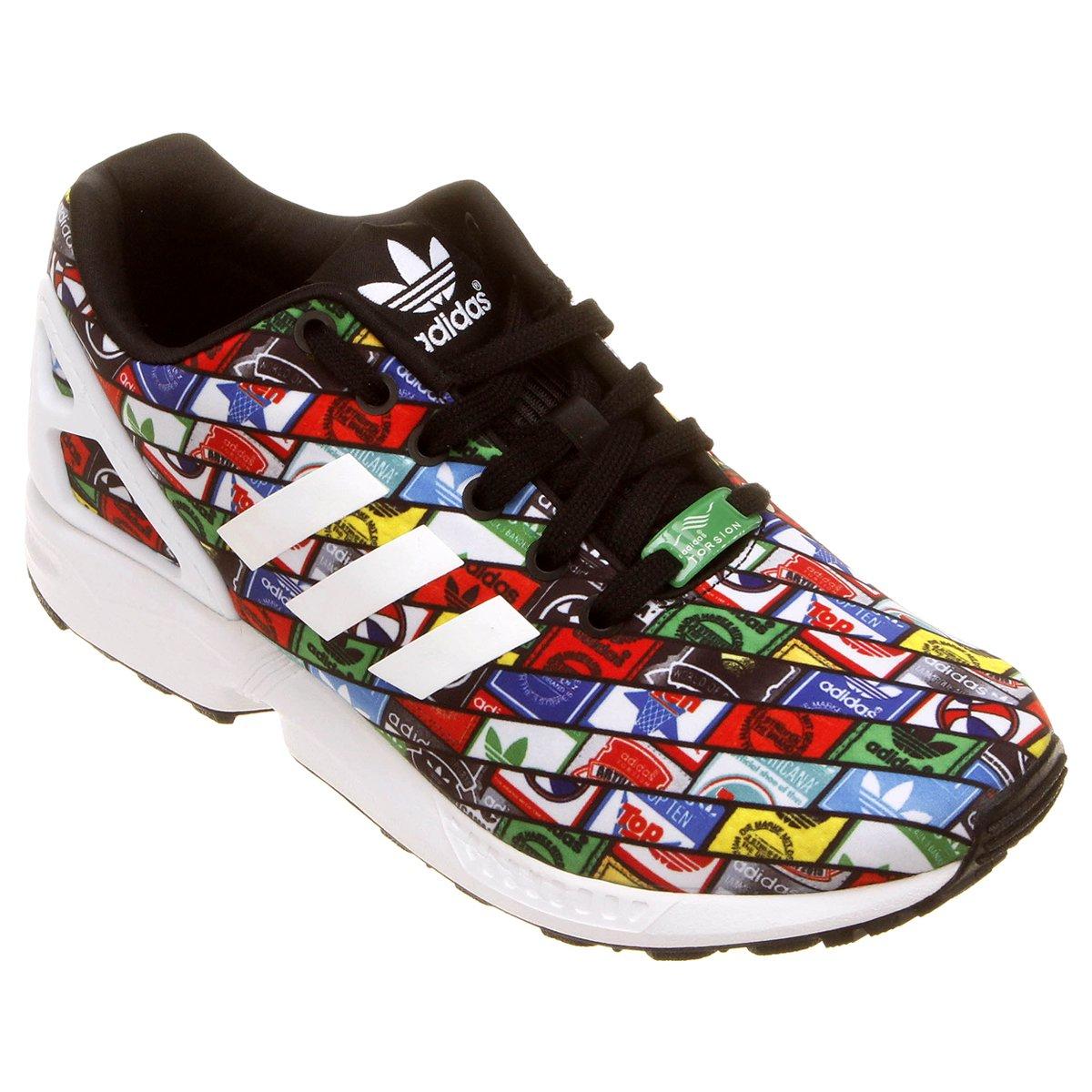 8d6c97ffa0b17 ... sale tênis adidas zx flux pretobranco fee35 f8202
