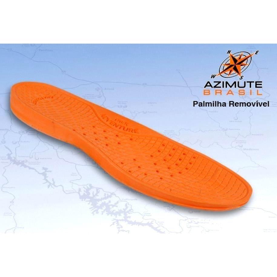 Adventure Baixo Tênis Trekking Caminhadas Azimute Cano Adventure Marrom Tênis wqEArIRA