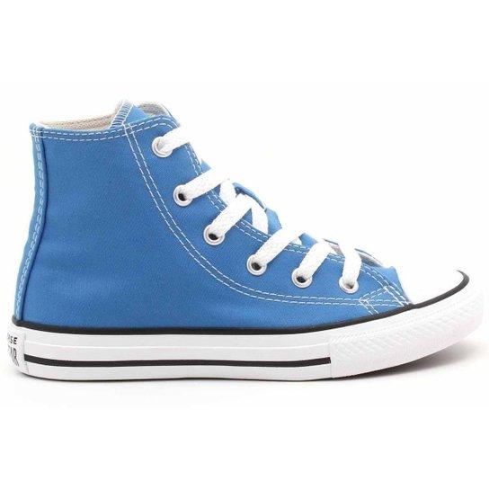 Tênis All Star Converse Kids Chuck Taylor Hi Infantil CK0428 - Azul