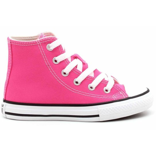 Tênis All Star Converse Kids Chuck Taylor Hi Infantil CK0428 - Pink