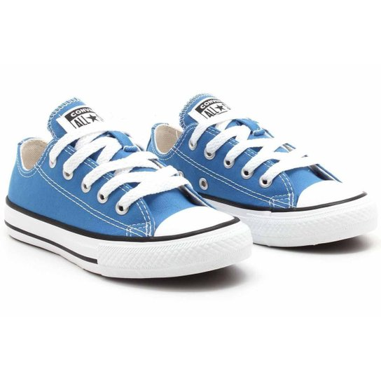 Tênis All Star Converse Kids Chuck Taylor Seasonal Ox CK0430 - Azul