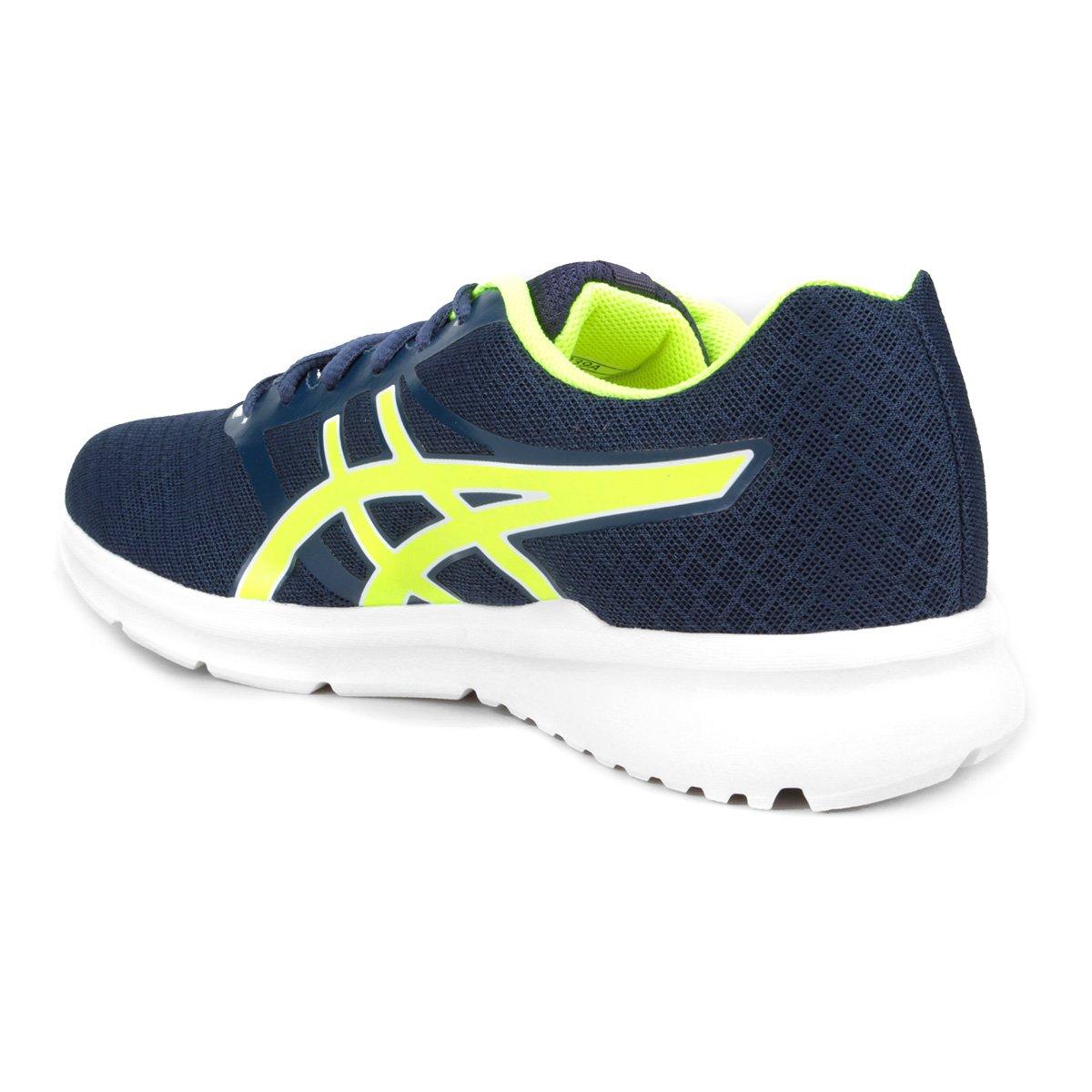 Tênis Asics Blocker Masculino - Azul e amarelo - Compre Agora  3e22b5619a41a