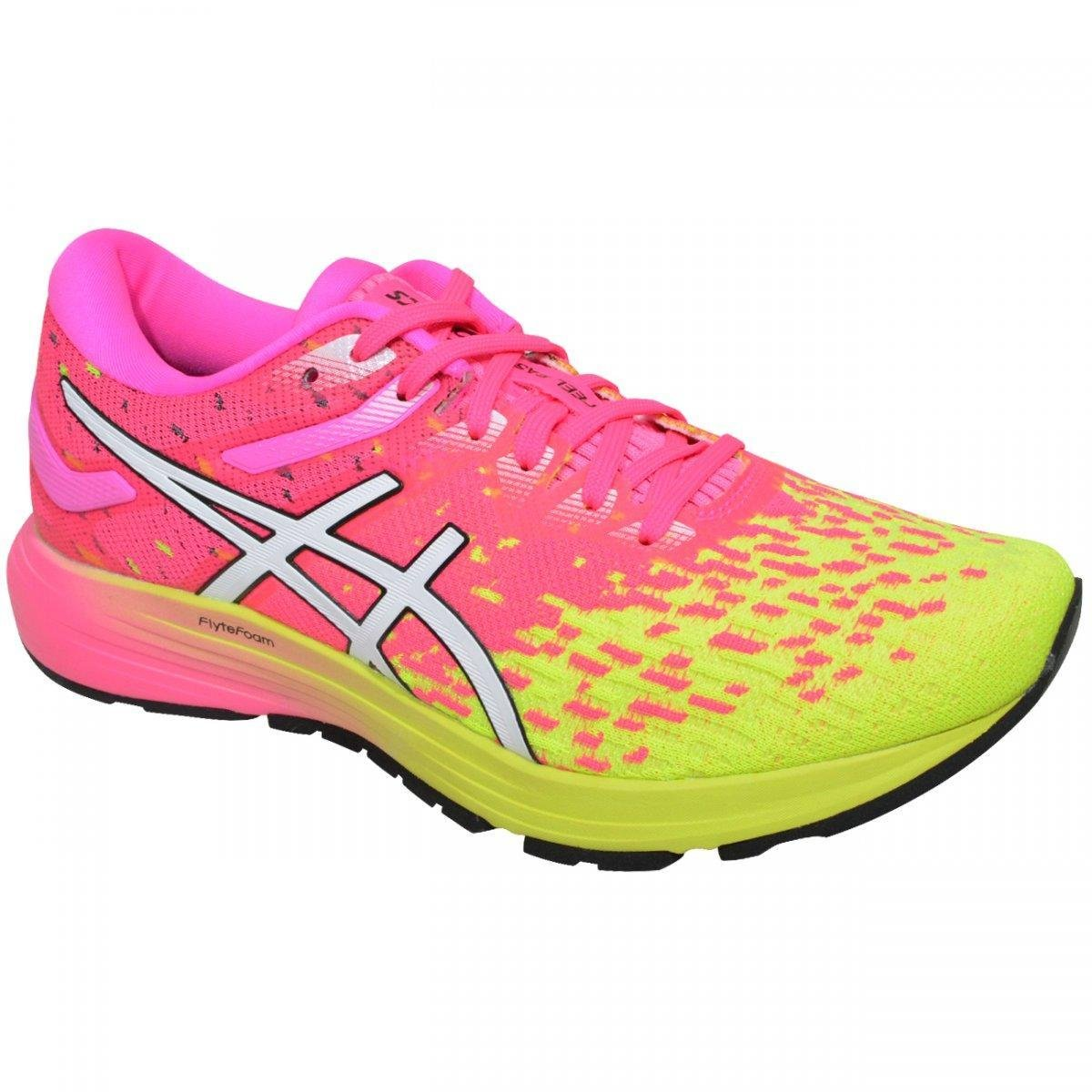 cheap for discount eeece 06d8a Tenis Asics Dynaflyte 4 Feminino - Pink e Verde