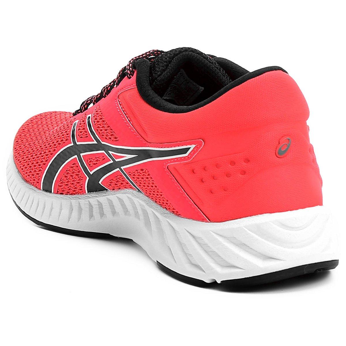 31e2f6b460 Tênis Asics Fuzex Lyte 2 Feminino - Pink e Preto - Compre Agora ...