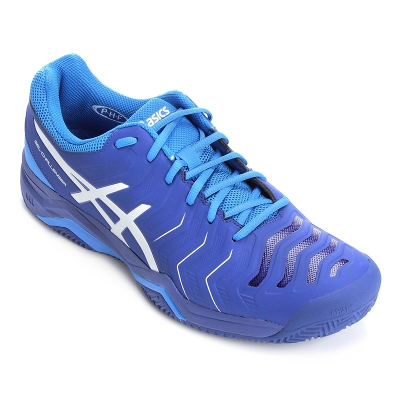 asics gel challenger 11 clay azul e704y 4901