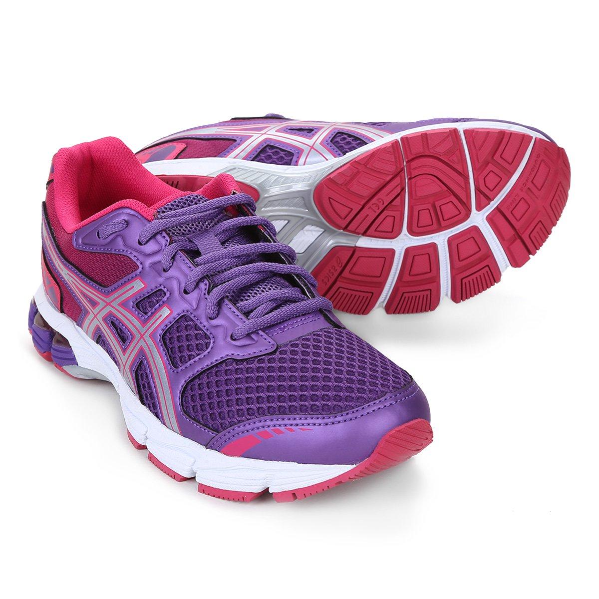 tenis asics feminino roxo e rosa que significa