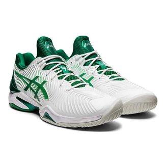 Tênis Asics Gel Court FF Novak - Branco com Verde