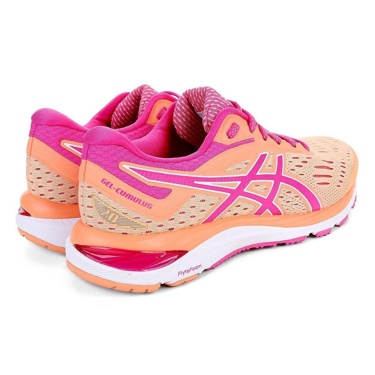 Tênis Asics Gel Cumulus 20 Feminino - Pink - Compre Agora  fc2c80e035a88