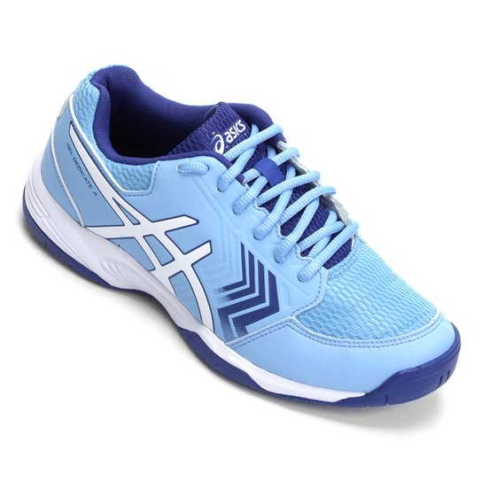 Tênis Asics Gel-Dedicate 5A Feminino - Azul Claro+Azul