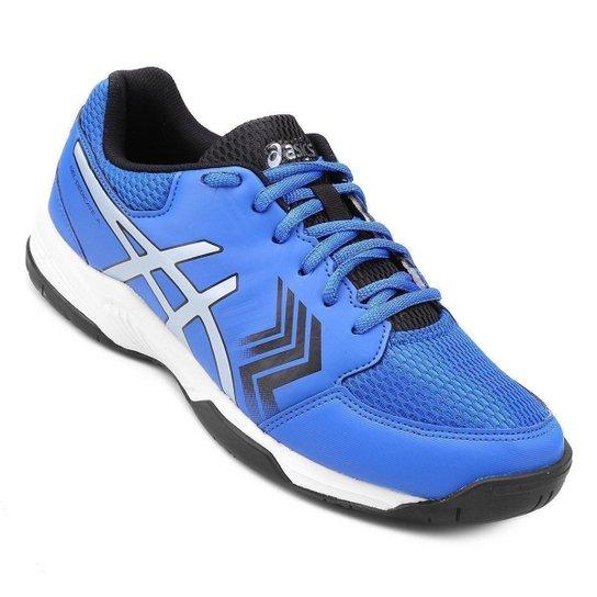 Tênis Asics Gel Dedicate 5A Masculino - Azul+Prata