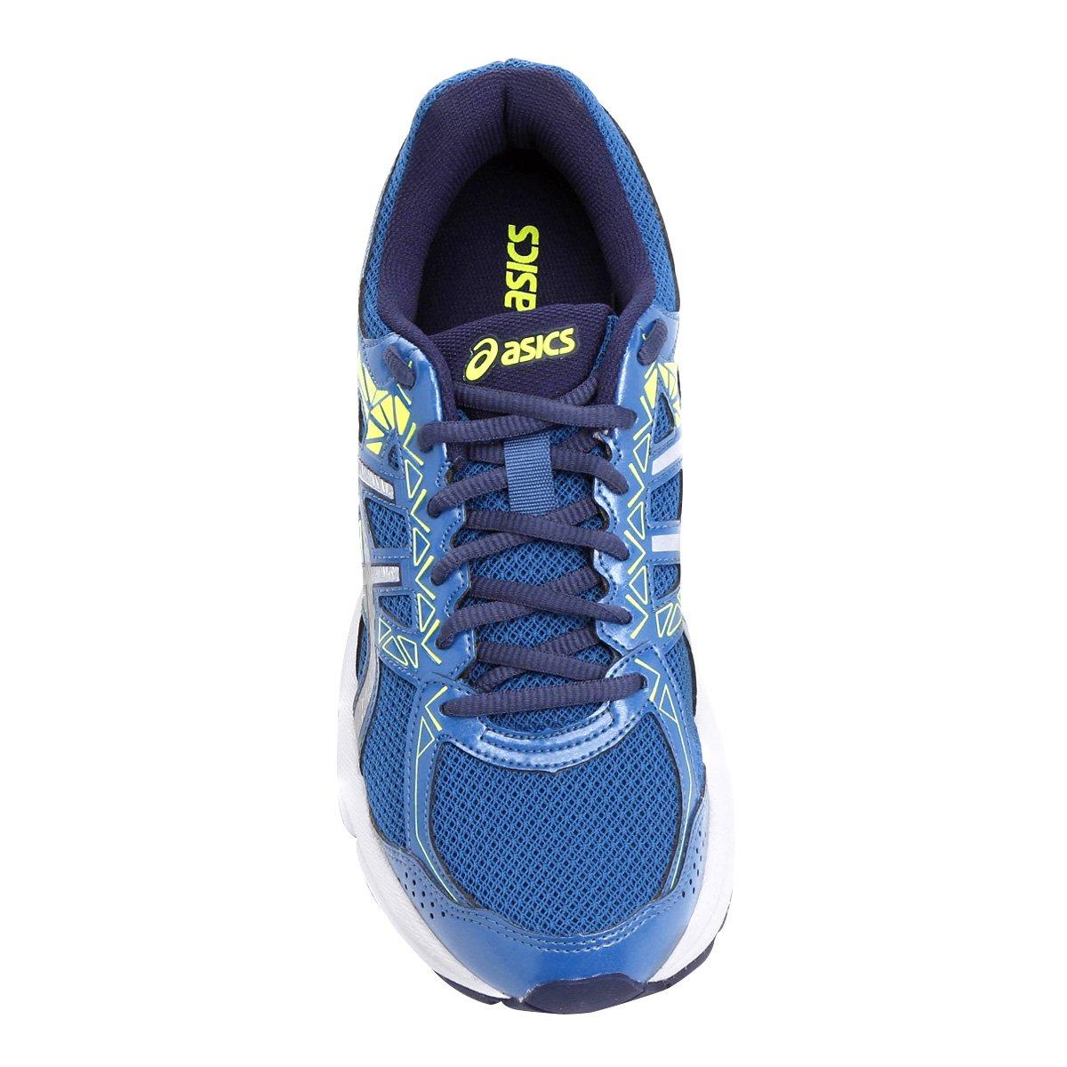 ec71de64d0 Tênis Asics Gel Exalt 3 A Masculino - Azul e Verde Limão - Compre ...