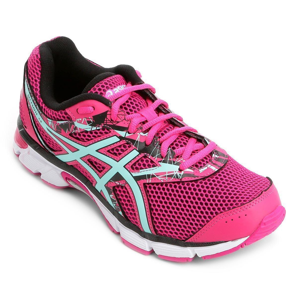 Tênis Asics GEL Excite 4 Feminino - Rosa - Compre Agora  ad1351894582d