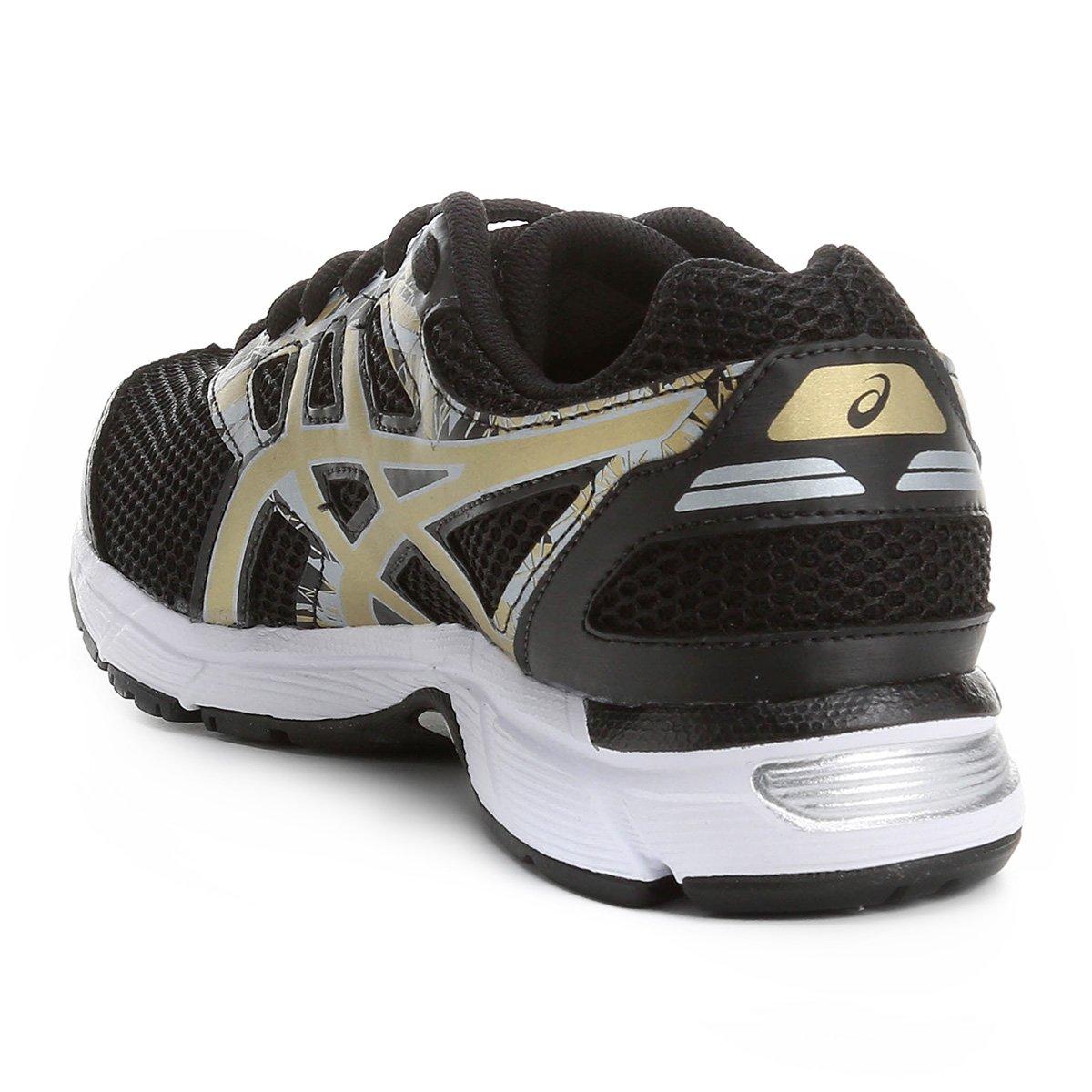897f3ac427 Tênis Asics GEL Excite 4 Feminino - Preto e Dourado - Compre Agora ...