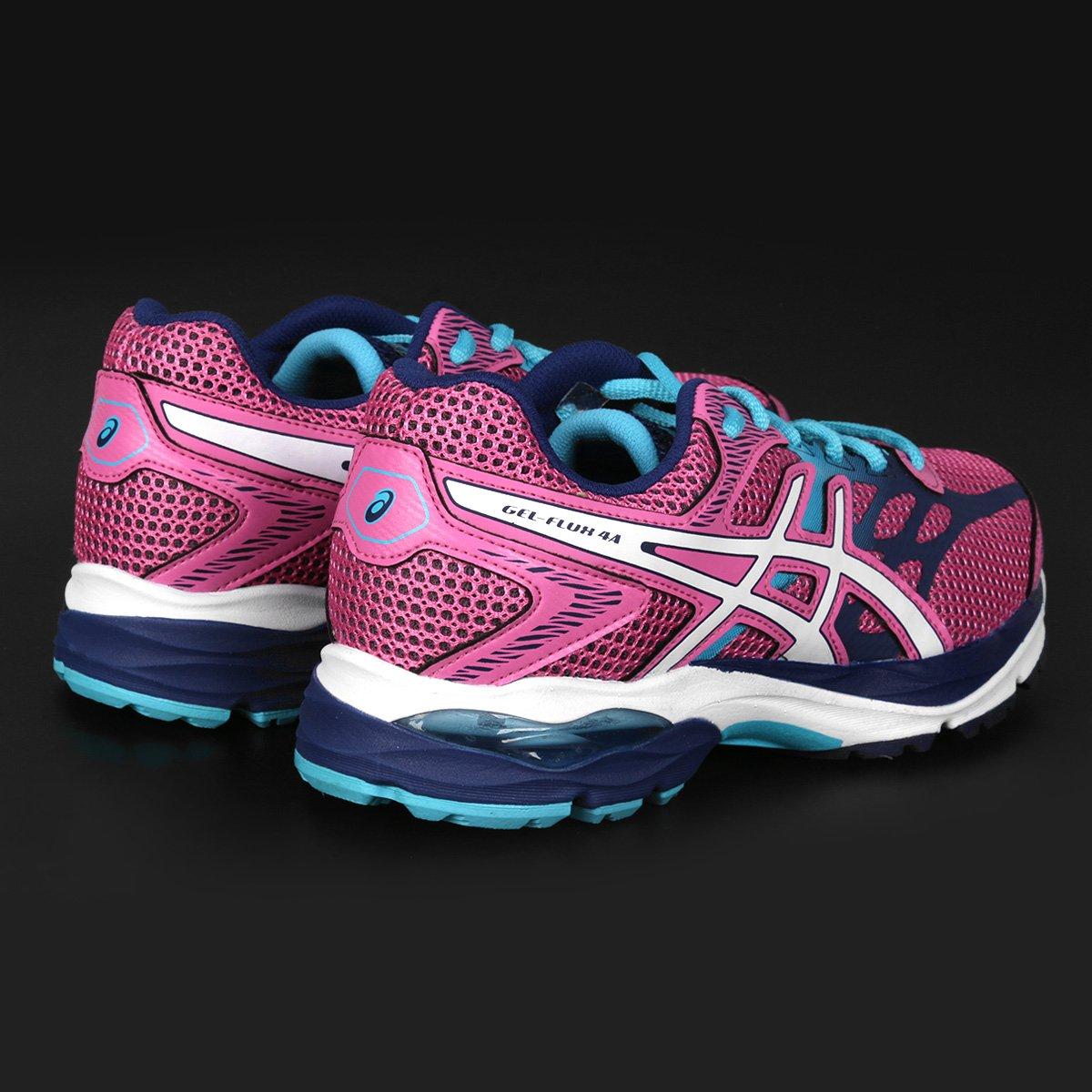 b45f3120a44 tenis asics gel flux feminino rosa