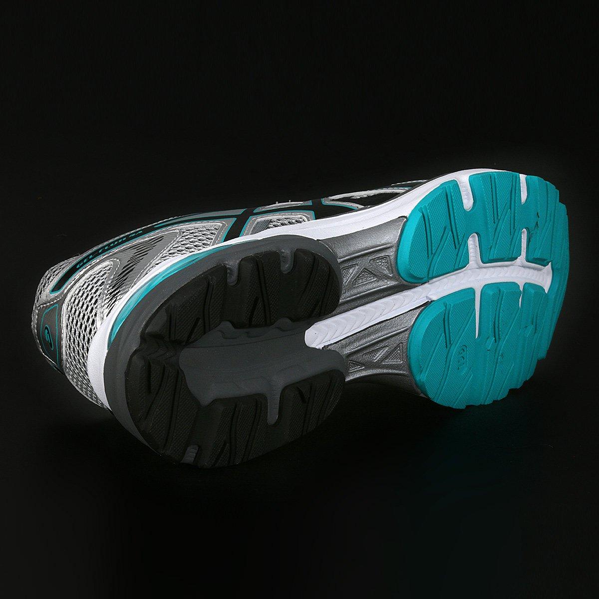 Tênis Asics Gel Flux 4 A Masculino - Cinza e Verde Água - Compre ... 183a0e55639c3
