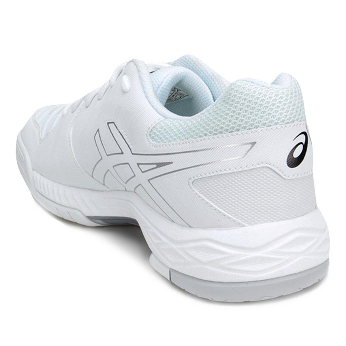 Tênis Asics Gel-Game 6 Masculino - Branco e prata - Compre Agora ... ea6503fdde735
