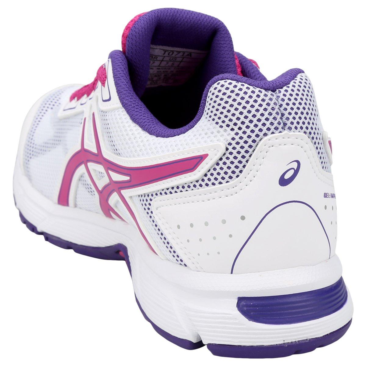 Tênis Asics Gel Impression 9 Feminino - Branco e Pink - Compre Agora ... ed276e7bf0a3d