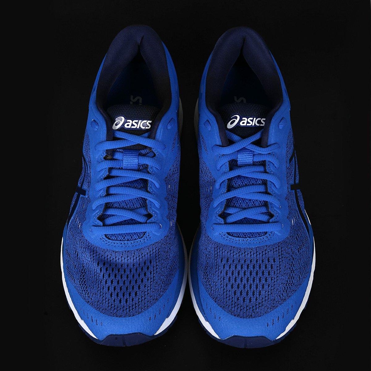 Tênis Asics Gel-Kayano 24 Masculino - Azul e Preto - Compre Agora ... ed29a50661ae9
