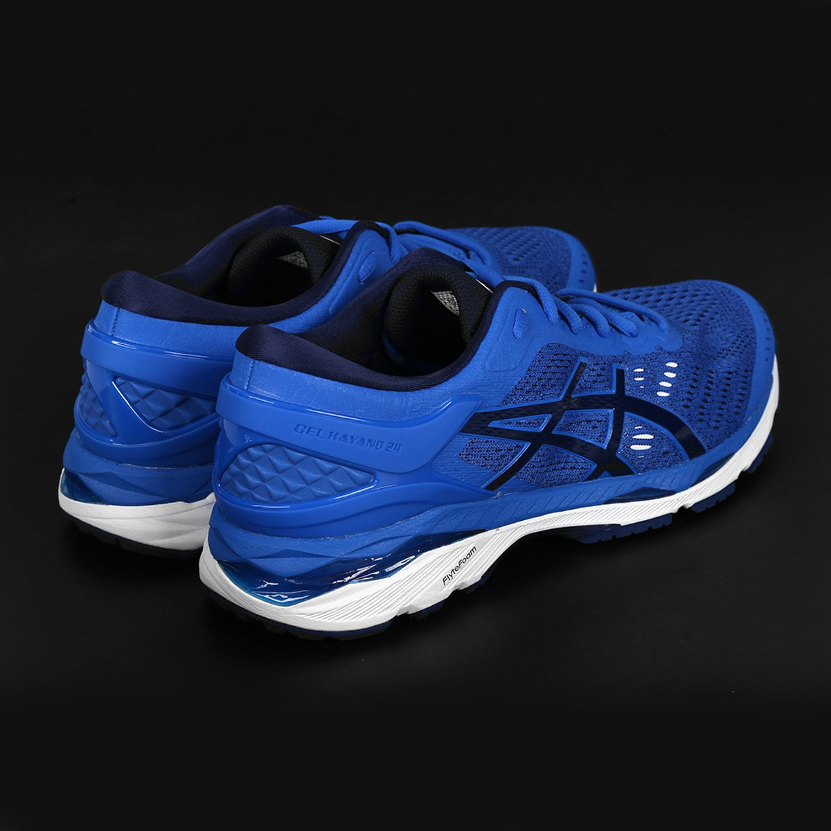 Tênis Asics Gel-Kayano 24 Masculino - Azul e Preto - Compre Agora ... 3985461970d55